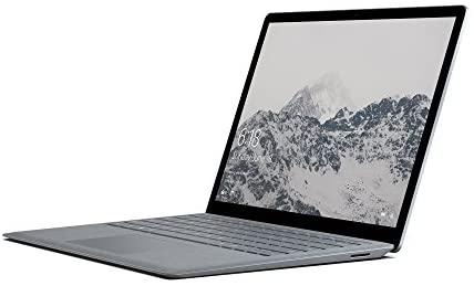Microsoft Surface Laptop 34,29 cm (13,5 Zoll) Laptop (Intel Core i7, 1TB Festplatte, 16GB RAM, Intel Iris Plus Graphics 640, Win 10 S) Platin Grau