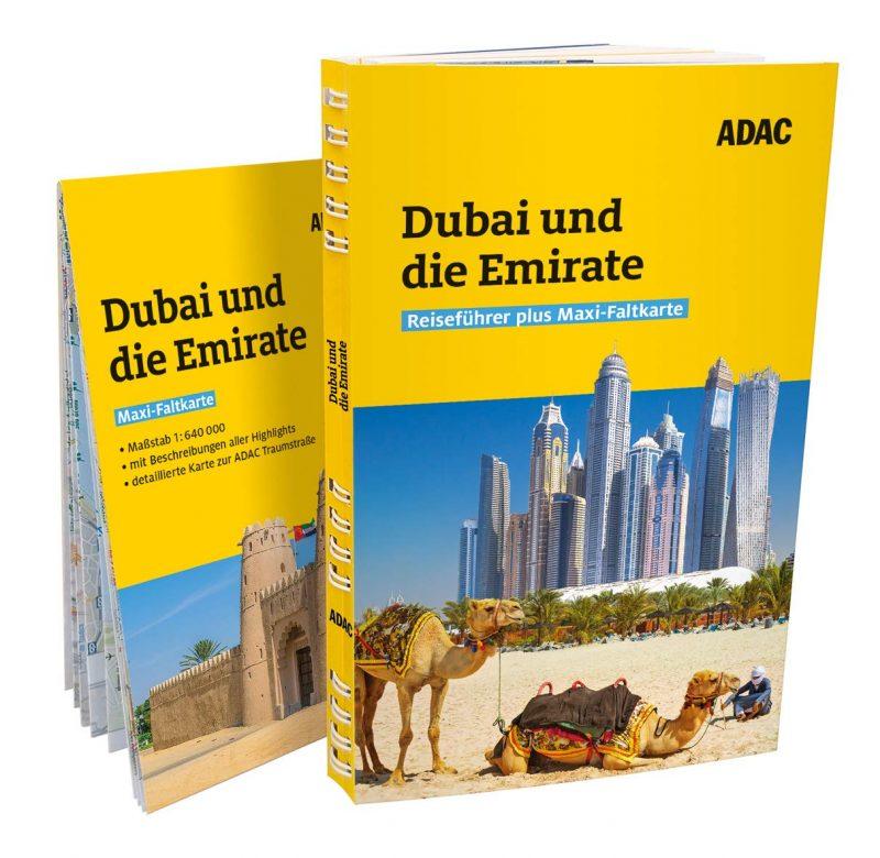 ADAC Reiseführer plus Dubai und Vereinigte Arabische Emirate: Mit Maxi-Faltkarte und praktischer Spiralbindung