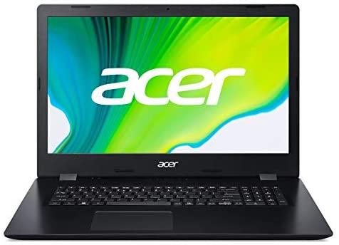 Acer Aspire (A317-52-39K1) 43,9 (17.3 Zoll Full-HD matt) Multimedia Laptop (Intel Core i3-1005G1, 8 GB RAM, 512GB PCIe SSD, Intel UHD, Windows 10 Home) schwarz