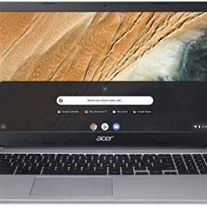 Acer Chromebook 315 (15,6 Zoll Full-HD IPS Touchscreen matt, 20mm flach, extrem lange Akkulaufzeit, schnelles WLAN, MicroSD Slot, Google Chrome OS) Silber