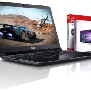 Acer Ultra i7 SSD Gaming (17,3 Zoll Full-HD) Notebook (Intel Core i7 10510U mit 4.90 GHz, 20GB DDR4, 1000 GB SSD, NVIDIA Geforce MX 250 GDDR5, DVDR/RW, HDMI, Windows 10, MS Office) #6459