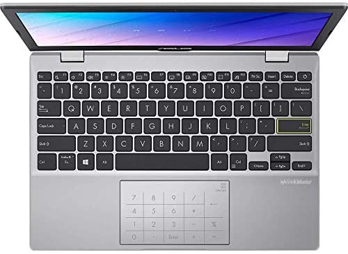 "Asus E Series - 11,6"" - Intel Pentium - Dreamy White - 8GB RAM - 370GB SSD - Windows 10 Pro - Office 2019 Pro #mit Funkmaus +Notebooktasche"