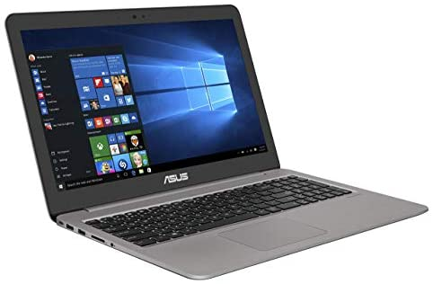 Asus Zenbook UX510UW-CN051T 39,6 cm (15,6 Zoll FHD matt) Laptop (Intel Core i7-7500U, 16GB RAM, 256GB SSD, 1TB HDD, NVIDIA GeForce GTX960M, Win 10) grau (Generalüberholt)