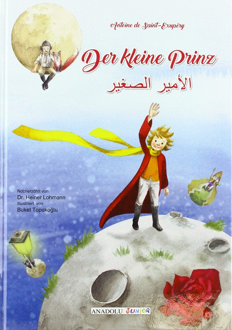 Der kleine Prinz, deutsch-arabisch