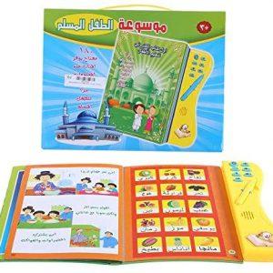 Garosa Kinder Lernen Buch Hörbar Elektronisch Arabisch Sprache Bücher Multifunktional Lesen Kognitive Studie Spielzeug für Kinder Entwicklung