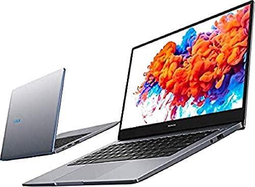 HONOR MagicBook 14 Laptop, 35,56cm (14 Zoll), Full HD IPS, 512 GB PCIe SSD, 16 GB RAM, AMD Ryzen 5 3500U, Fingerabdrucksensor, Windows 10 Home - Space Grey