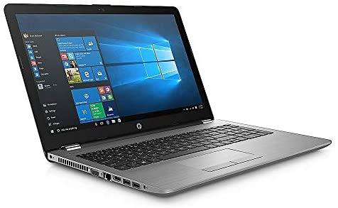 "HP 15 (15,6"" HD) Notebook Silber, AMD A4 2.6GHz, 8GB RAM, 500GB SSD, DVD-Brenner, Win10 PRO, WLAN, Bluetooth, USB 3.1, HD Webcam + Tasche"