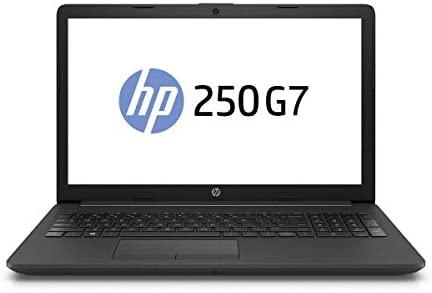 "HP 250 G7 (15,6"" Full HD) Notebook Intel Core i3-7020U 2,3GHz 8GB RAM 250GB SSD DVDRW-Brenner Win10 Pro +Tasche"