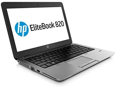 HP EliteBook 820 G3 12,5 Zoll Intel Core i5 256GB SSD Festplatte 8GB Speicher Windows 10 Pro UMTS LTE Webcam Fingerprint Tastaturbeleuchtung Notebook Laptop (Zertifiziert und Generalüberholt)