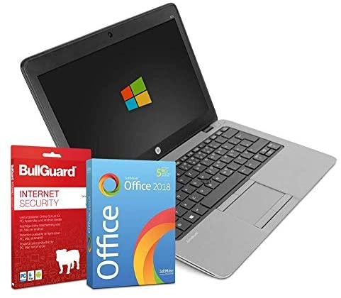 HP EliteBook 820 G3 | 12,5 Zoll Notebook | Intel Core i5-6200U@ 2X 2,3 GHz | 4 GB | 256 GB SSD | Windows 10 Pro | BullGuard | SoftMaker Office (Generalüberholt)