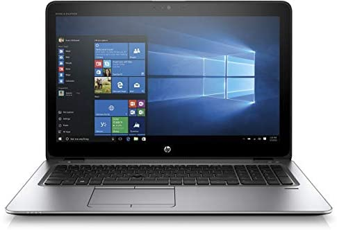 HP EliteBook 850 G3 Z2U90ES (15,6 Zoll FHD) Laptop (Intel Core i5-6200U, 256 GB SSD, 8 GB RAM, Windows 10) Silber (Generalüberholt)