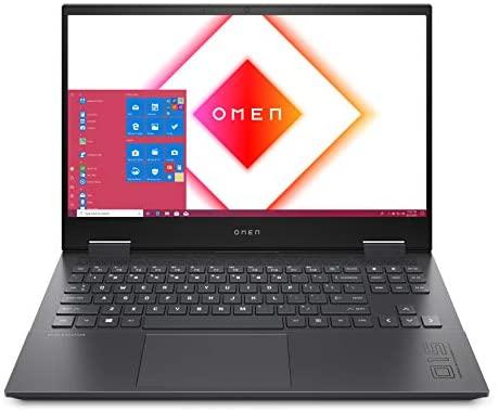 HP OMEN 15-en0263ng (15,6 Zoll / FHD IPS 144Hz) Gaming Laptop (AMD Ryzen 7 4800H, 16GB DDR4 RAM, 512GB SSD, Nvidia GeForce GTX 1660Ti 6GB) Windows 10 Home, Schwarz