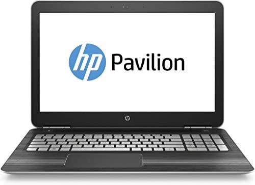 HP Pavilion (15-bc201ng) 39,6 cm (15,6 Zoll / Full-HD IPS) Laptop (Intel Core i5-7300HQ, 8 GB RAM, 1 TB HDD, 256 GB SSD, NVIDIA GeForce GTX 1050, Windows 10 Home 64) in schwarz/silber