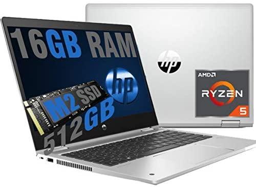 HP ProBook 435 G7 Notebook Display 13,3 Zoll Full HD Touch Screen Cpu AMD Quad Core Ryzen 5 4500U 4,0Ghz /Ram 16GB DDR4 /SSD Nvme M.2 512GB /VGA RADEON /Hdmi Wifi Bluetooth/W. indows 10 pro