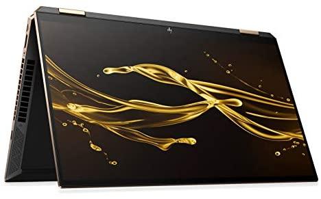 HP Spectre x360 15-eb0008ng (15,6 Zoll / UHD IPS Touch) Convertible Laptop (Intel Core i7-10510U, 16GB RAM, 512GB SSD, 32GB 3D XPOINT, Nvidia MX330 2GB, Fingerprintsensor, Win 10) + HP Active Pen