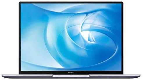 HUAWEI MateBook 14 2020 Laptop, 14 Zoll 2K-FullView Notebook, AMD Ryzen 5 4600H, 16 GB RAM, 512 GB SSD, leichtes Metallgehäuse, Fingerabdrucksensor, Windows 10 Home - Space Gray 40 EU