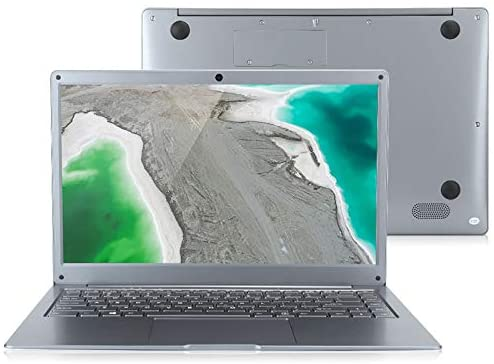 Jumper 14 '' EZbook S5 Slim tragbarer Laptop, Intel Apollo Lake X86 Goldmont-CPU, 1920 × 1080 FHD-Bildschirm, 6 GB RAM 64 GB ROM, WiFi, Bluetooth, Windows 10(EU-Stecker)