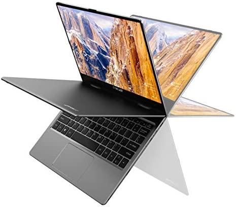 Laptop 11,6 Zoll, TECLAST F5 Convertible Notebook, Touch Display, 8GB RAM 256GB SSD Ultrabook, Windows 10, 1920X1080 IPS, Prozessor Intel Celeron N4100, Aluminium Gehäuse, WLAN, Bluetooth
