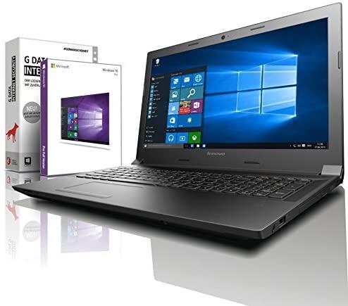 Lenovo (15,6 Zoll) Notebook (Intel Pentium N4200 Quad Core 4x2.50 GHz, 8GB RAM, 128GB SSD, Intel HD Graphic, HDMI, Webcam, Bluetooth, USB 3.0, WLAN, Windows 10 Professional 64 Bit) #5833