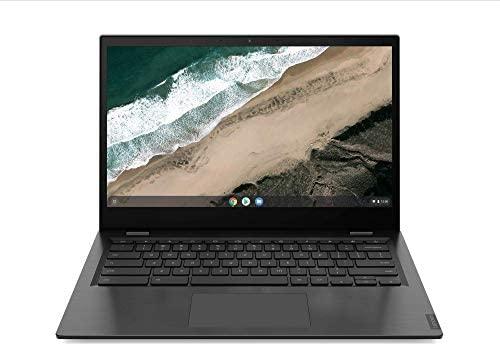 Lenovo Chromebook S345-14AST Laptop 35,6 cm (14 Zoll, 1920x1080, Full HD, entspiegelt) Slim Notebook (AMD A4-9120C, 4GB RAM, 32GB eMMC, AMD Radeon R4 Grafik, ChromeOS) grau