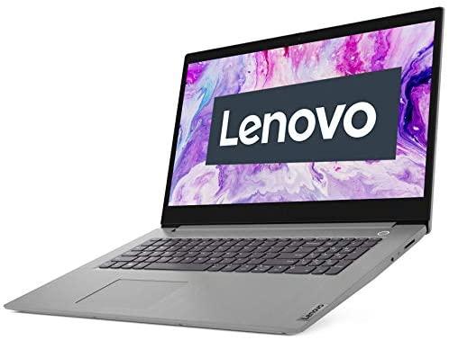 Lenovo IdeaPad 3i Laptop 43,9 cm (17,3 Zoll, 1920x1080, Full HD, WideView, entspiegelt) Slim Notebook (Intel Core i5-1035G1, 8GB RAM, 512GB SSD, Intel UHD-Grafik, Windows 10 Home) silber