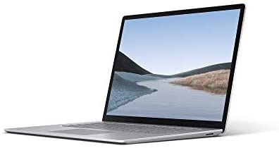 Microsoft Surface Laptop 3, 15 Zoll Laptop (AMD Ryzen 5 3580U, 8GB RAM, 128GB SSD, Win 10 Home) Platin