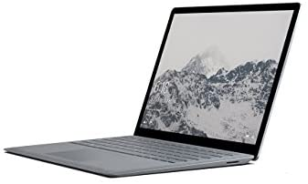 Microsoft Surface Laptop 34,29 cm (13,5 Zoll) Laptop (Intel Core i7, 256GB Festplatte, 8GB RAM, Intel Iris Plus Graphics 640, Win 10 S) Platin Grau