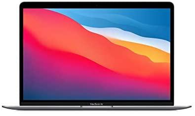 "Neues Apple MacBook Air mit Apple M1 Chip (13"", 8GB RAM, 256 GB SSD) - Space Grau (Neustes Modell)"