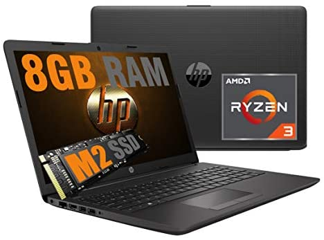 "Notebook HP 15,6"" LED Display HD AG /Cpu Amd R3 Quad Core Ryzen 3 3200U bis zu 3,5GHz /Vga Radeon Vega 3 /SSD M2 256GB /RAM 8GB DDR4 /Webcam /3 USB hdmi Wi-fi Bluetooth/Wi-Fi indows 10"