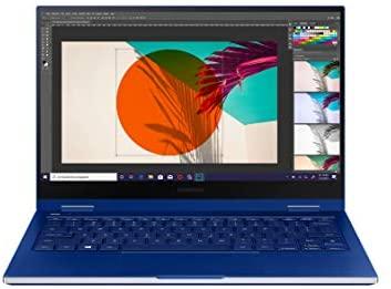 Samsung Galaxy Book Flex 33,78 cm (13,3 Zoll) Notebook (Intel Core i5-1035G4, 8 GB RAM, 256 GB SSD, S Pen, Windows 10 Home) royal blue
