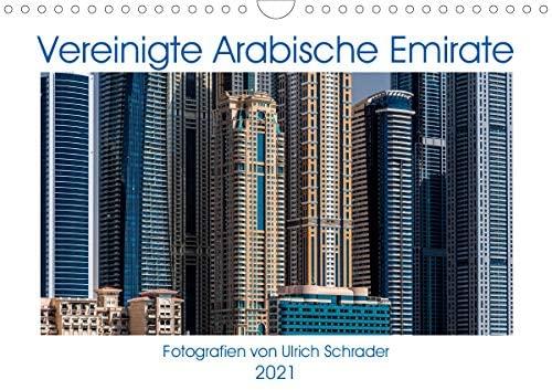 Vereinigte Arabische Emirate 2021 (Wandkalender 2021 DIN A4 quer)