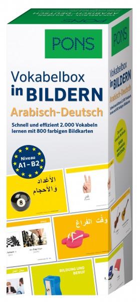 Vokabelbox, Vokabeln Deutsch Arabisch mit Bildern