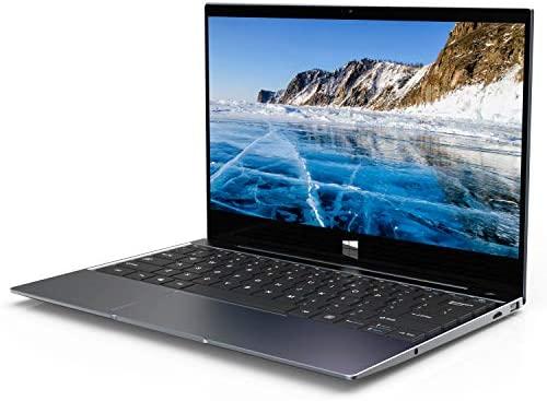 XIDU Notebook Tour Pro - 12,5 Zoll 2K IPS Touch Laptop mit Fingerabdruckleser (Intel Celeron 3867U, 8GB RAM, 128GB eMMC, Intel HD Graphics 610, Windows 10) - Space Grau