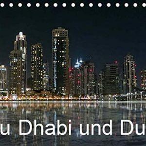 Abu Dhabi und Dubai (Tischkalender 2021 DIN A5 quer)