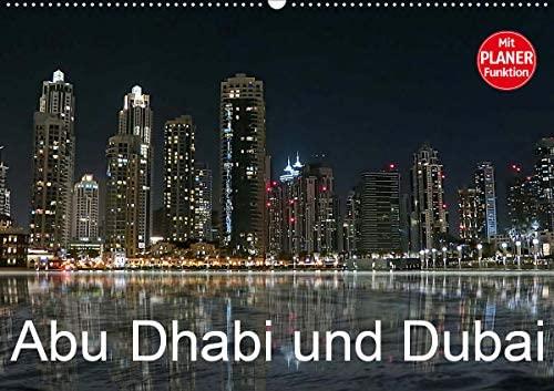 Abu Dhabi und Dubai (Wandkalender 2021 DIN A2 quer)