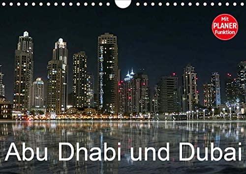 Abu Dhabi und Dubai (Wandkalender 2021 DIN A4 quer)