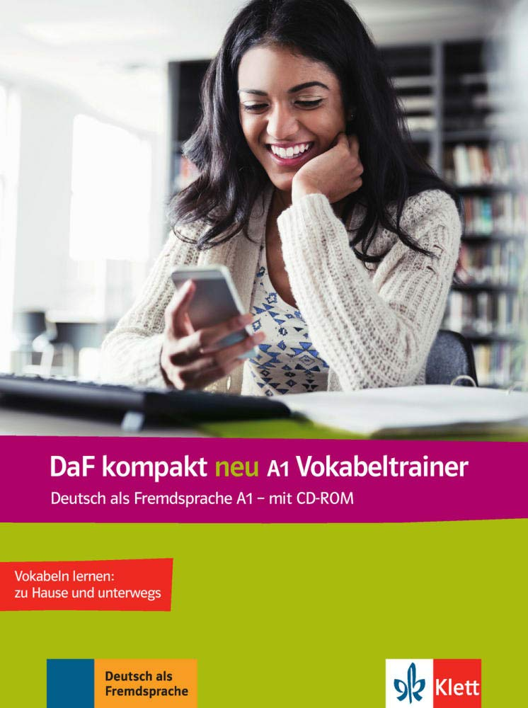 DaF kompakt neu A1 Vokabeltrainer: Arabisch, Englisch,Spanisch, Französisch, Italienisch, Polnisch mit CD-ROM
