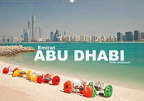 Emirat Abu Dhabi (Wandkalender 2021 DIN A2 quer)