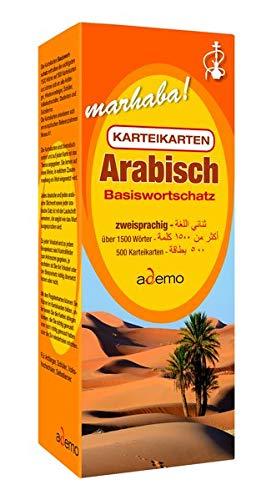 Karteikarten - Basiswortschatz Arabisch: Niveau A1 bilingual / zweisprachig