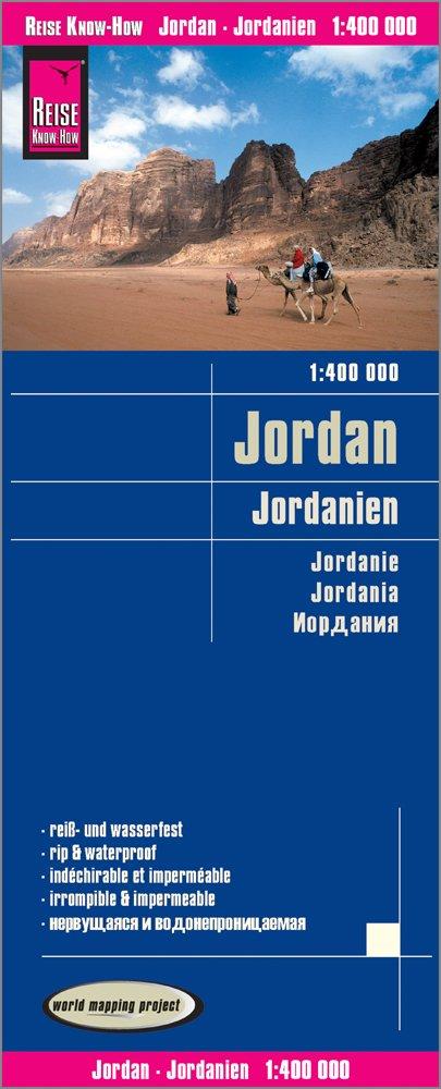Reise Know-How Landkarte Jordanien / Jordan (1:400.000): reiß- und wasserfest (world mapping project)