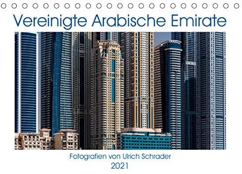 Vereinigte Arabische Emirate 2021 (Tischkalender 2021 DIN A5 quer)