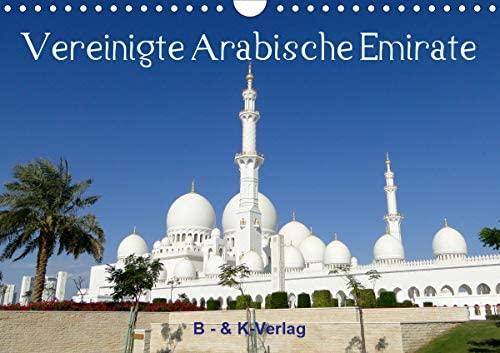 Vereinigte Arabische Emirate (Wandkalender 2021 DIN A4 quer)